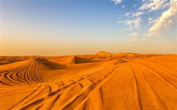 Обои Пустыня, горячие, пески, Дубай