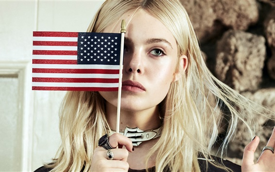Wallpaper Elle Fanning 14
