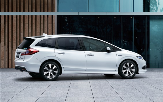 Fondos de pantalla Honda Jade coche híbrido vista lateral