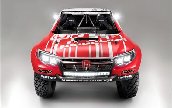 Wallpaper Honda Ridgeline Baja Race Truck front view