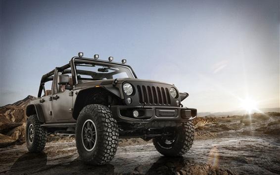壁纸 Jeep牧马人Rubicon无限隐身皮卡