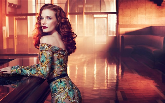 Wallpaper Jessica Chastain 01