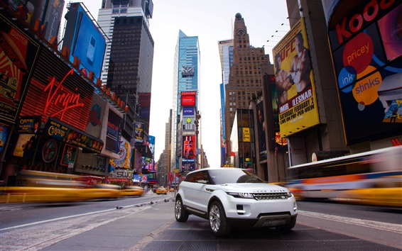 Wallpaper Land Rover LRX concept SUV car