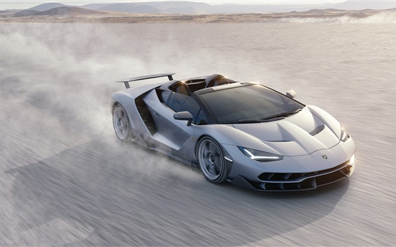 Обои Роскошный суперкар, Lamborghini Сентенарио Roadster