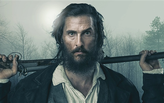 Fondos de pantalla Matthew McConaughey, Estado Libre de Jones 2016