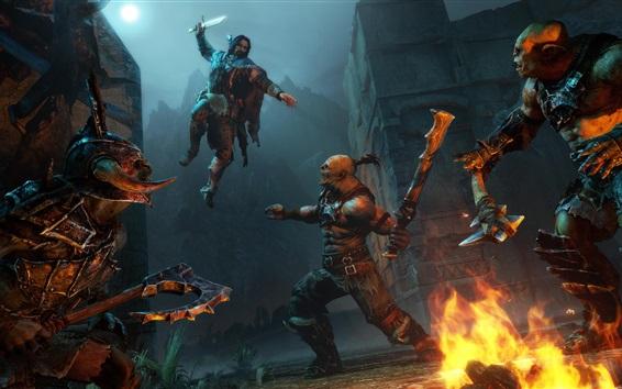 Fond d'écran Terre du Milieu: Shadow of Mordor, jeux en ligne
