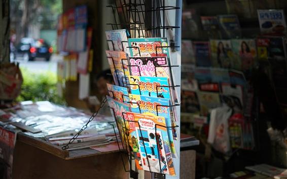 Wallpaper Newsstand, China silhouette