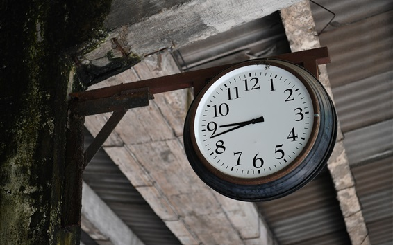 Обои Старые часы