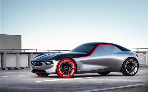 Wallpaper Opel GT concept supercar