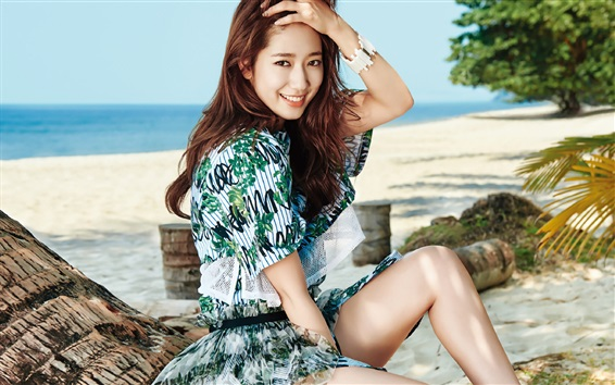 Fond d'écran Park Shin Hye 06