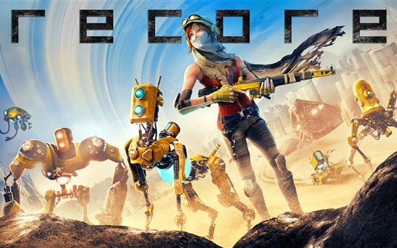 Wallpaper Recore PS4 games