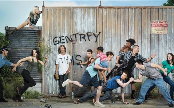 Wallpaper Shameless, TV series