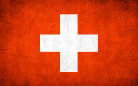 Wallpaper Switzerland flag