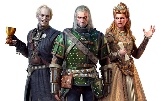 Fond d'écran The Witcher 3: Wild Hunt, Blood and Wine