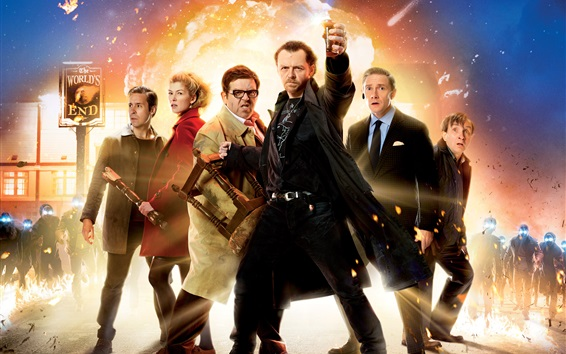 Wallpaper The World's End 2013