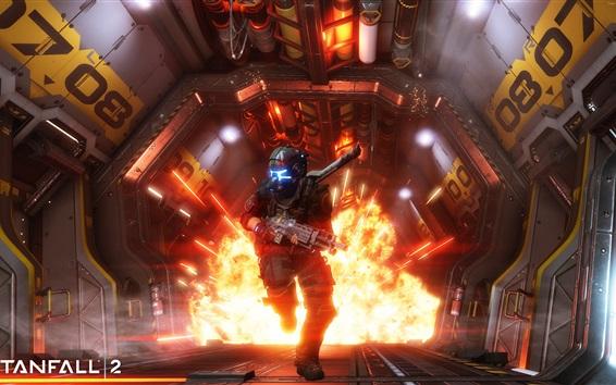 Fondos de pantalla Titanfall 2, soldado, fuego