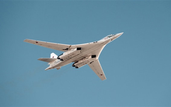 Wallpaper Tu-160 supersonic strategic bomber