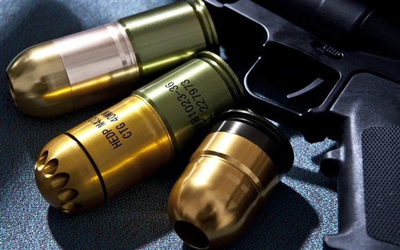 Wallpaper Weapon, ammunition, gun