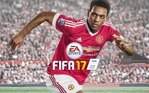Wallpaper Anthony Martial, FIFA 17