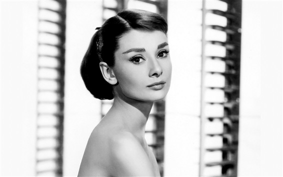 Fond d'écran Audrey Hepburn 05