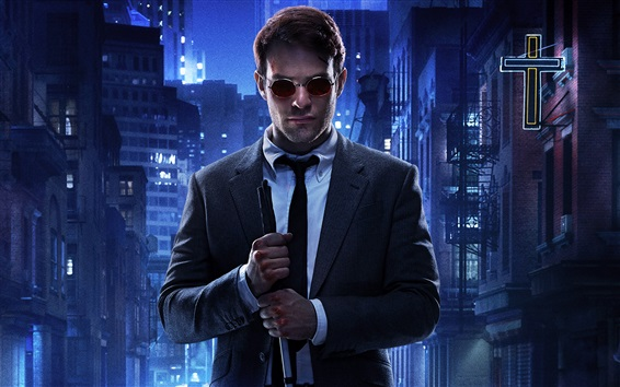 Wallpaper Charlie Cox, Daredevil TV series