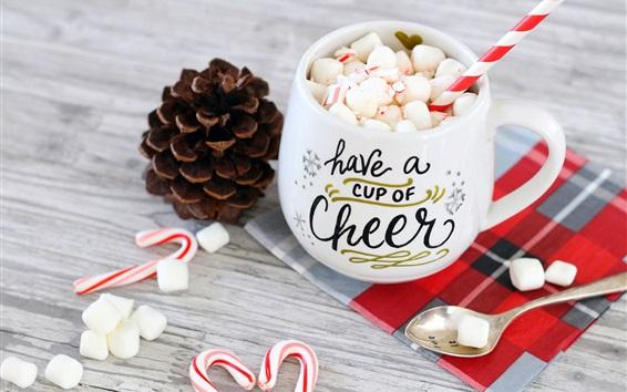 Wallpaper Cup of dessert, candy