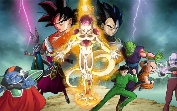 Fond d'écran Dragon Ball Z: Fukkatsu N ° F