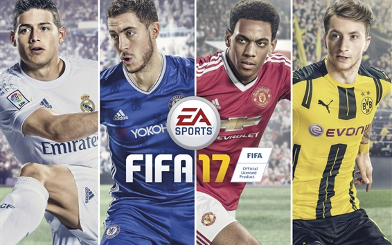 Wallpaper FIFA 17 EA games