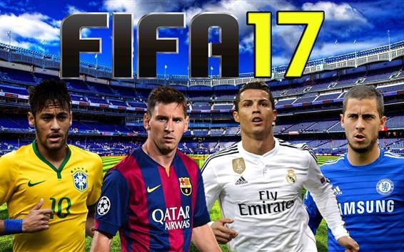 Обои FIFA 17 спортивных игр