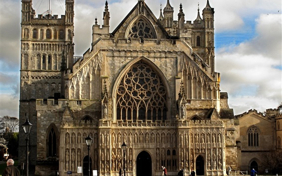 Papéis de Parede Igreja gótica, Inglaterra
