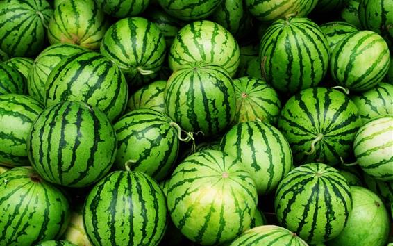 Wallpaper Green watermelon