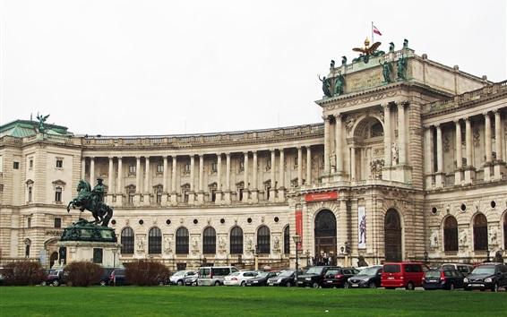 Fond d'écran Hofburg, Vienne, Autriche