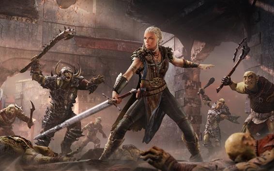 Fondos de pantalla La Tierra Media: La sombra de Mordor, los juegos de Xbox
