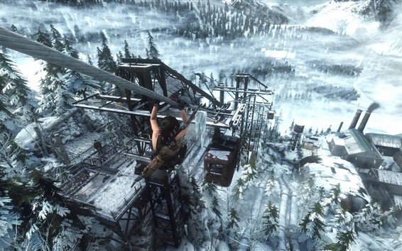 Fondos de pantalla Rise of the Tomb Raider, juego captura de pantalla