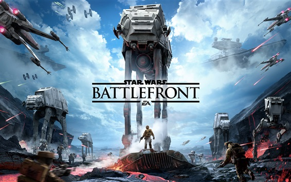 Wallpaper Star Wars Battlefront, EA games