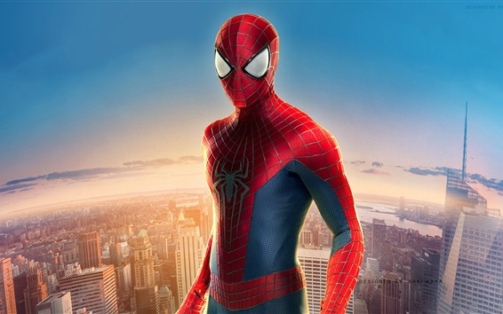 Wallpaper The Amazing Spider Man, Parker