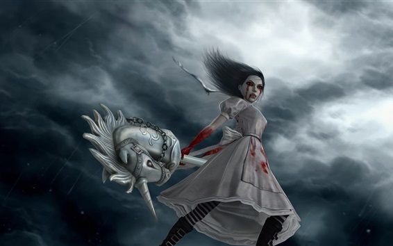 Wallpaper Alice Madness Returns, games art picture