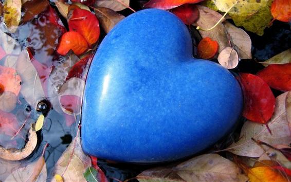 Wallpaper Blue heart