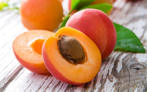 Wallpaper Juicy peaches