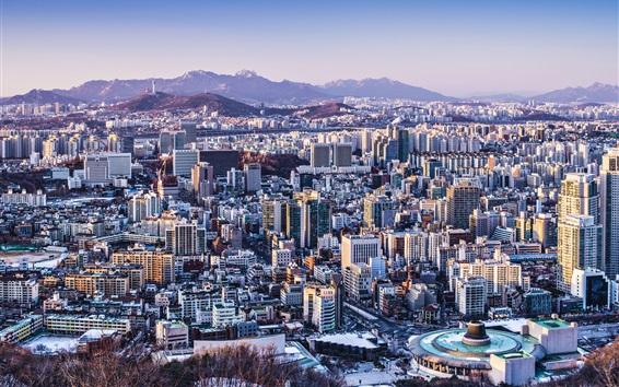 Fond d'écran Corée Séoul ville