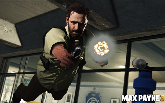 Wallpaper Max Payne 3 Xbox games