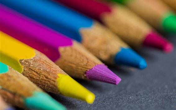 Обои Радуга цветные карандаши