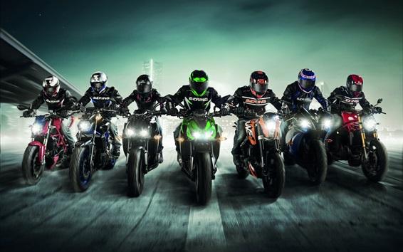 Wallpaper Sports, motorcycle race