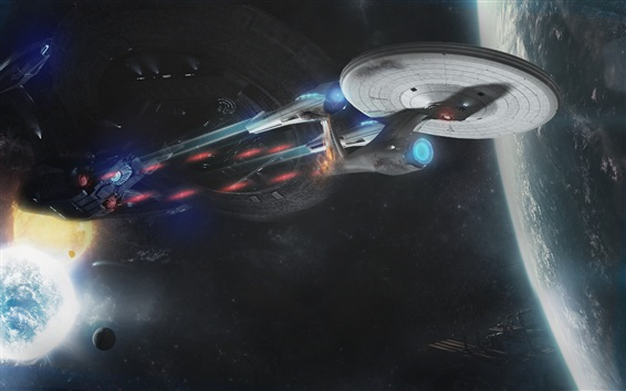 Wallpaper Star Trek Into Darkness, spaceship