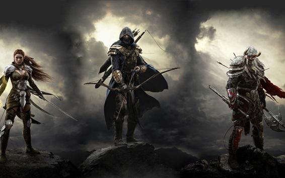 Papéis de Parede The Elder Scrolls Online, jogos para Xbox