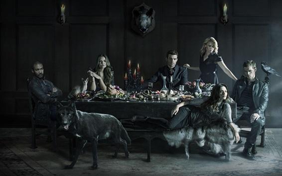 Wallpaper The Original Vampire, TV series
