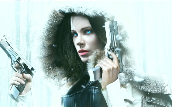 Wallpaper Underworld: Blood Wars 2016, Kate Beckinsale