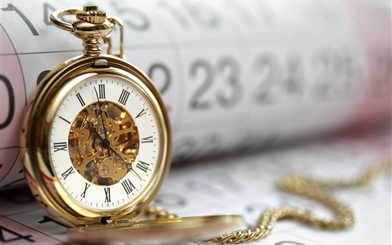 Wallpaper Watch and calendar, time