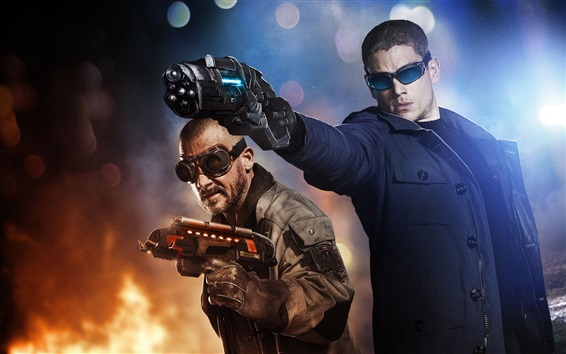Wallpaper Wentworth Miller in The Flash TV series