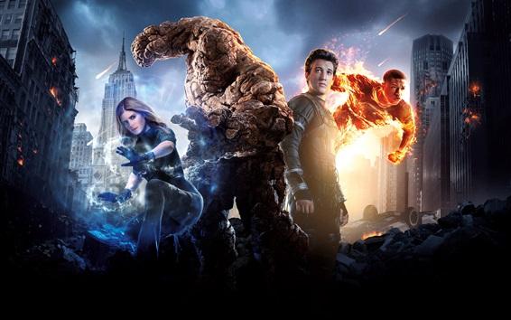 Wallpaper 20th Century Fox, Fantastic Four 2015